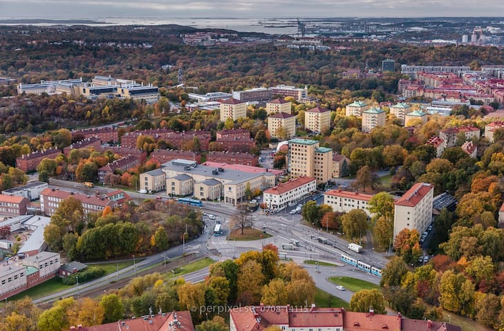 2 room apartment in C. Gothenburg - Gotemburgo - Apartamento