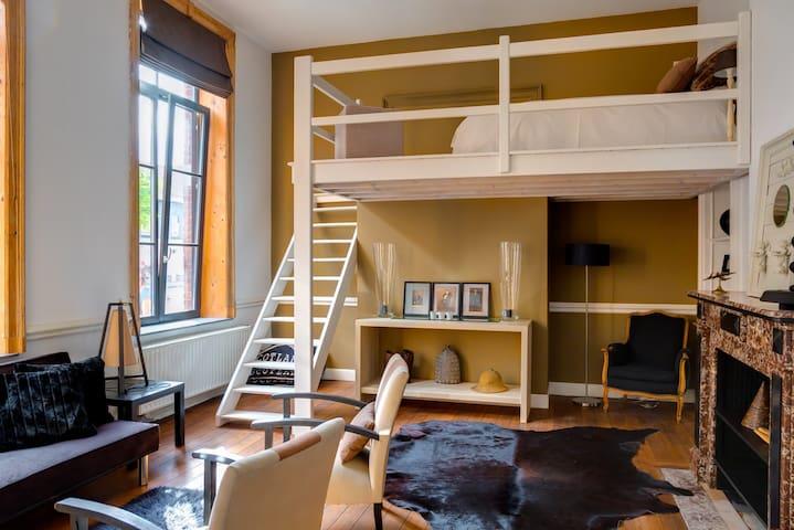 Bel appartement pour les Formule1 - Verviers - Lägenhet