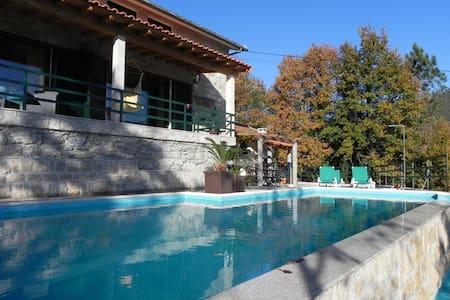 Quinta c/ piscina  Vieira do Minho j/ praia ermal - Mosteiro