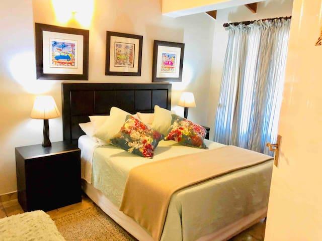 More of Master Bedroom 2 - Sleeps a maximum of 2 guests. Private En-suite bathroom.