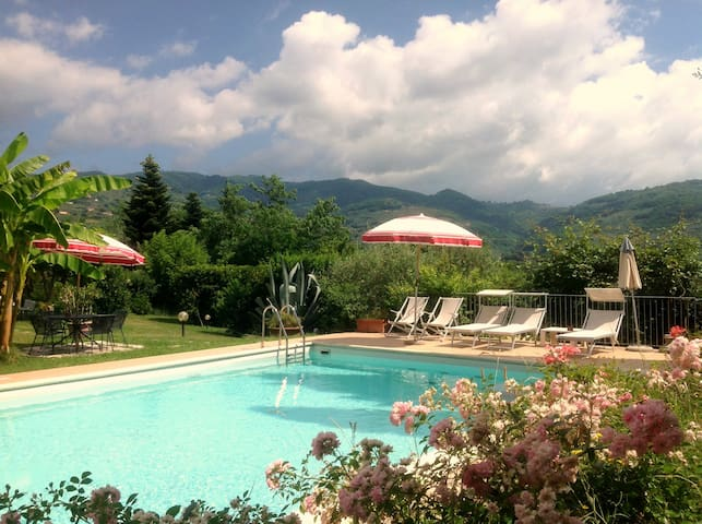 Best country house in Tuscany/pool/ac/wifi - Buggiano - Casa