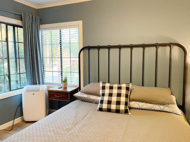 Bedroom #1 with king size bed