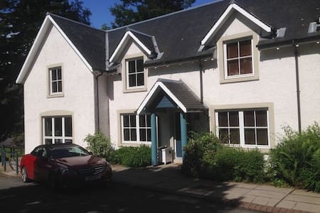 Lodge in Country Estate  near Gleneagles sleeps 6. - Gleneagles - Casa