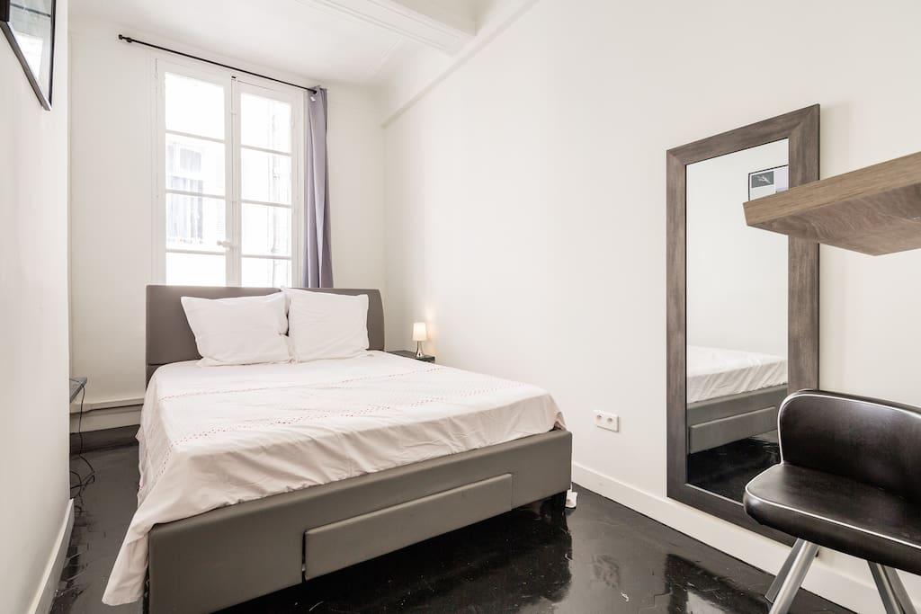 chambre 2 lit en 160 cm