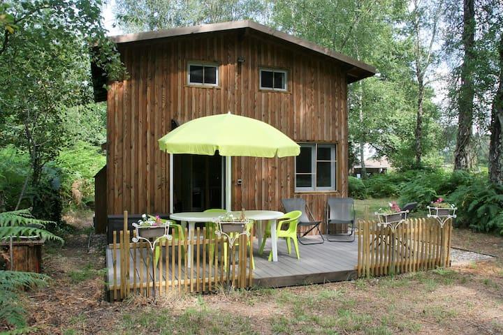 Chalet au naturel - Lignan-de-Bazas - Huis