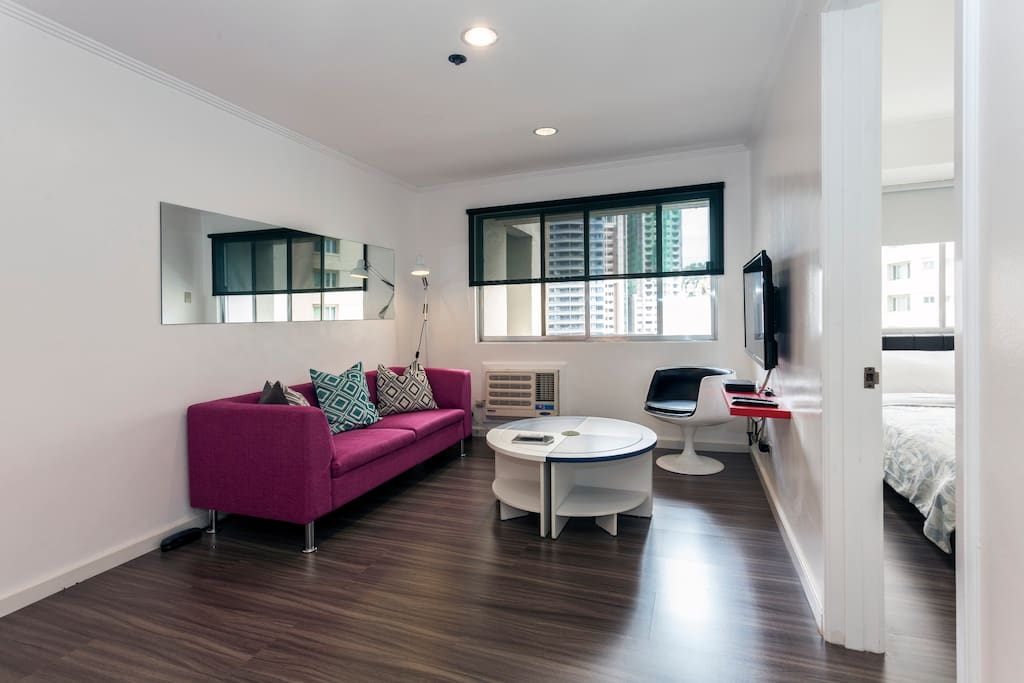 Young Executive 1-Bedroom on HV dela Costa Makati