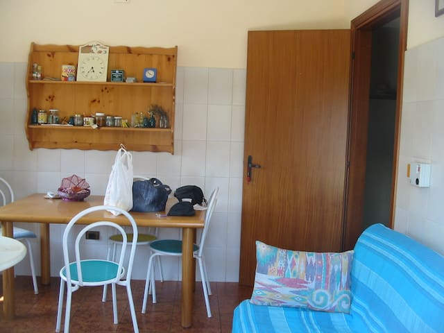 Summer house with big terrace - Oliveri - Appartement