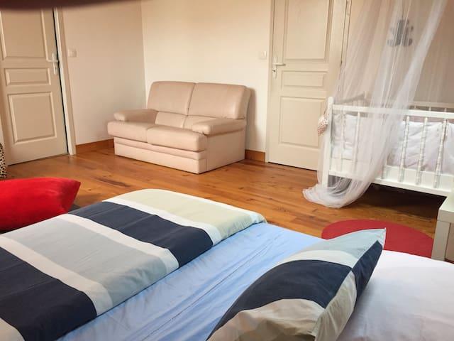 Chambre privée dans maison - Bergerac - Ház