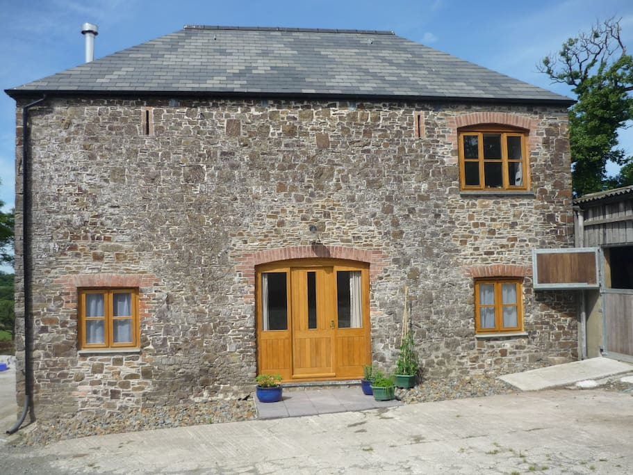 A stone barn converted to comfortable self-catering holiday accommodation.