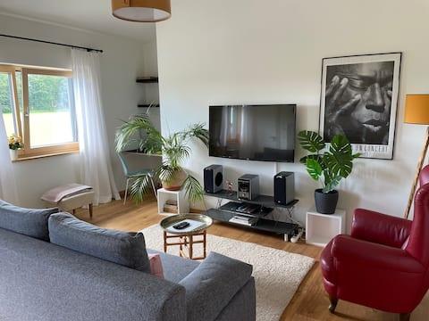Moderní apartmán u jezera Starnberg