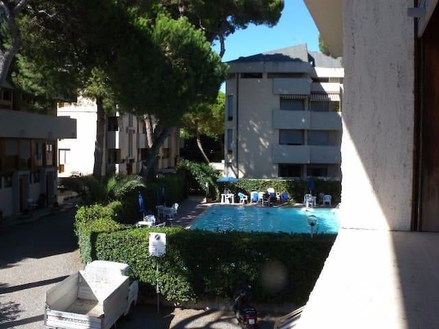 Bilocale in Residence con Piscina a 50m dal mare - Rosignano Solvay-Castiglioncello - Apartament