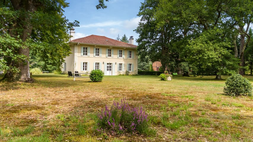Huge family house from the XIXth century - Pontenx-les-Forges - Hus
