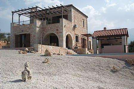 Sea view, private pool, stone house - Provarma - House - 1