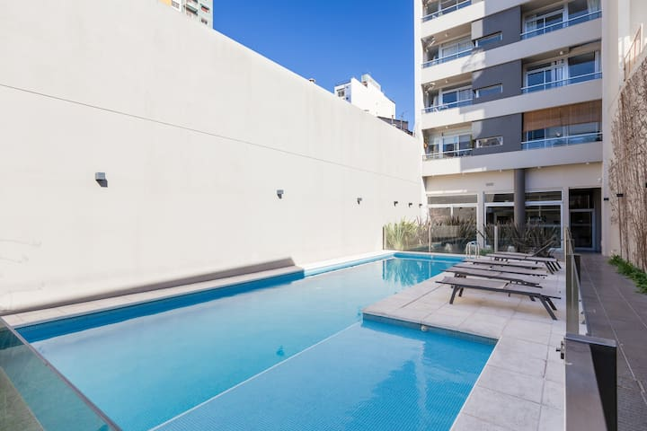 Beautiful apartment with Pool & BBQ