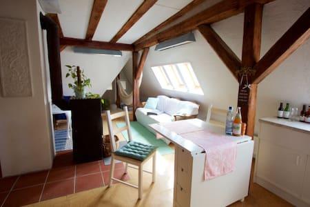 gemütliche Dachgeschosswohnung - Schwäbisch Gmünd - Huoneisto