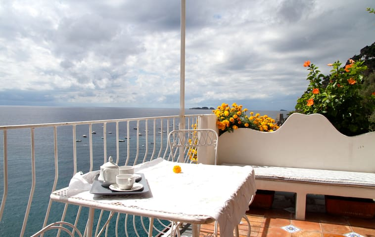 Breathtaking view in Positano#4 - Positano - Apartmen