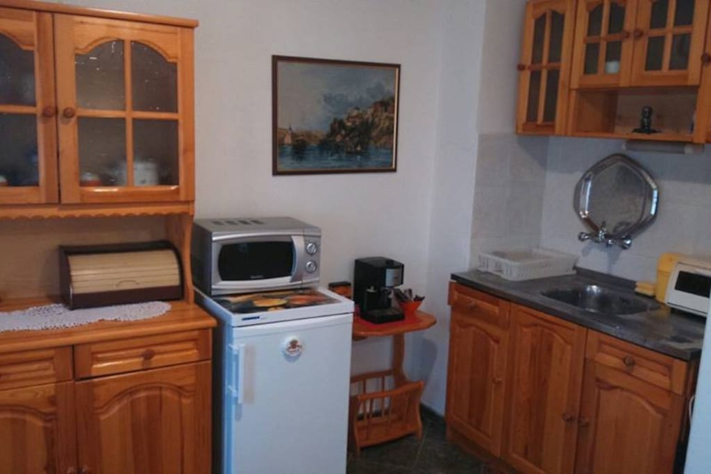 Kitchen with all facilities