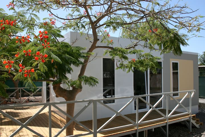 Mobile home in Camping Nauta