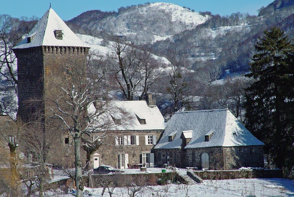 vue en hiver