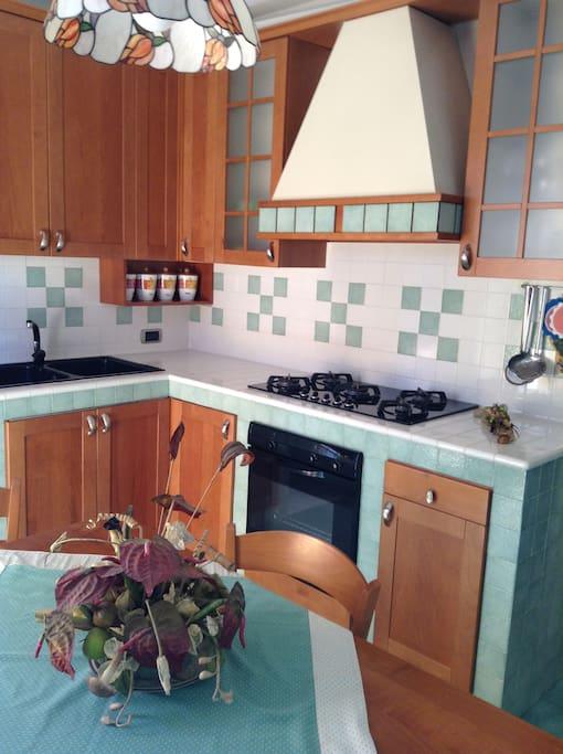 la cucina abitabile