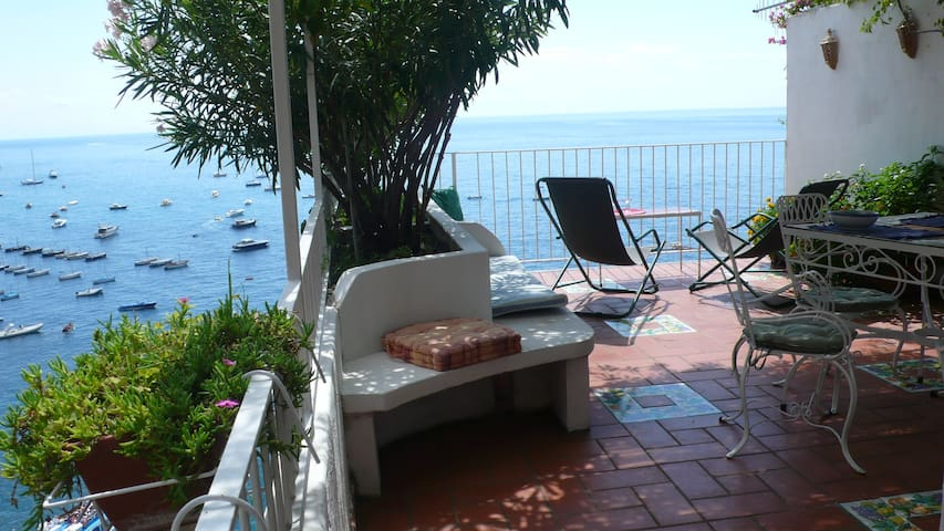Breathtaking view in Positano#7 - Positano - Apartament