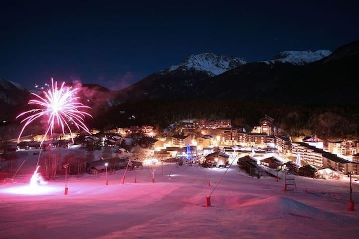 Station de ski de La Norma T2 30m² 5 à 6 couchages - Villarodin-Bourget