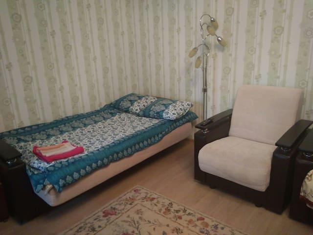 Тихая комната в шаговой доступности от аэропорта
