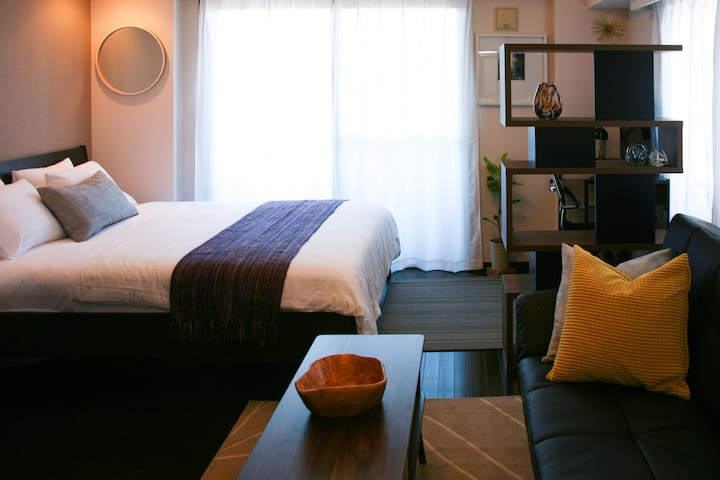 6min to Asagaya Cozy & Modern by Shinjuku FreeWiFi - Suginami-ku - Departamento
