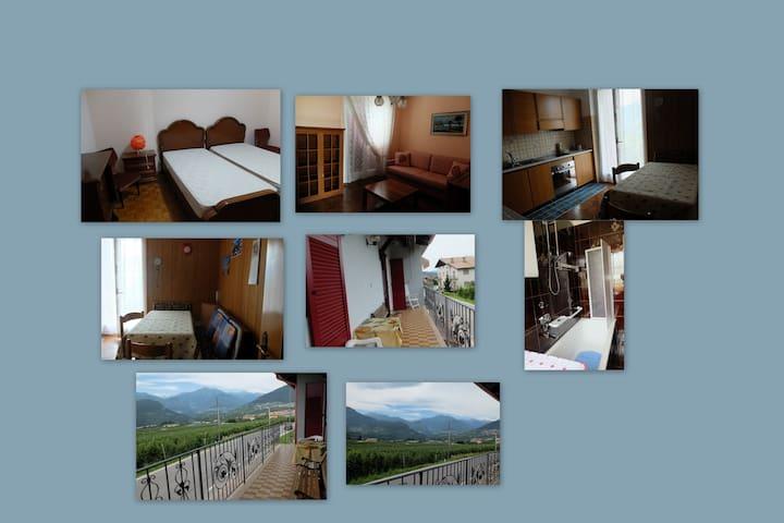 affitto appartamento per ferie - Sanzeno - อพาร์ทเมนท์