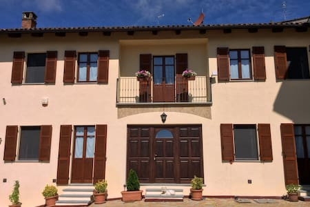 Splendid holiday home in Monferrato, wine county - Casorzo