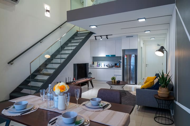 Designer Duplex by Tetris Home @ EkoCheras | MRT