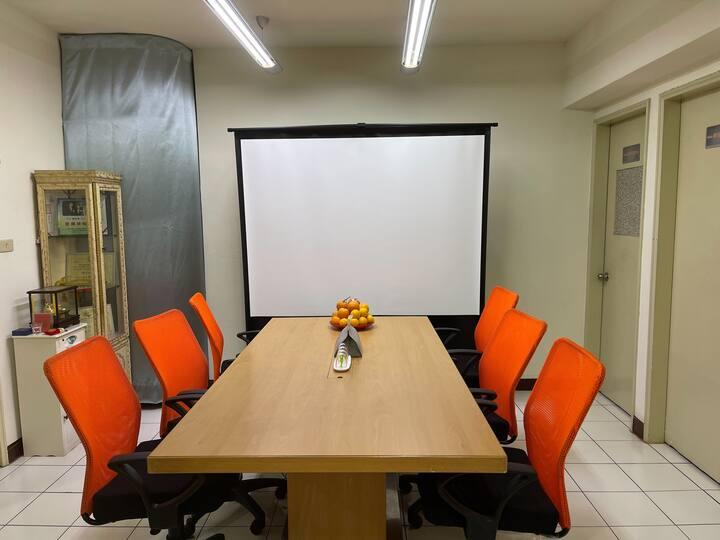 客房附會客大廳、辦公影音設備