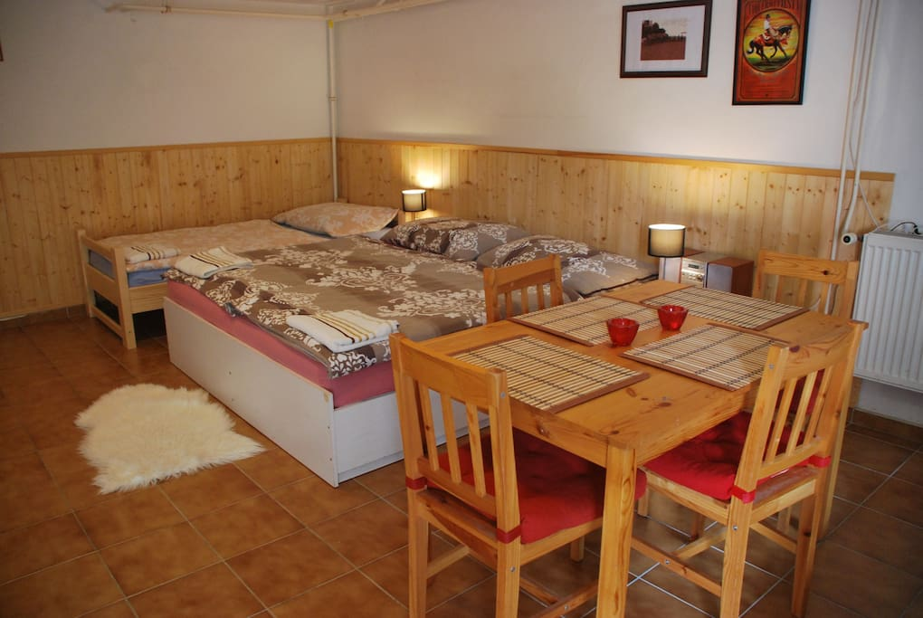 Room for 4 person on ranch 79 case in affitto a sm d ice for Case di tronchi ranch