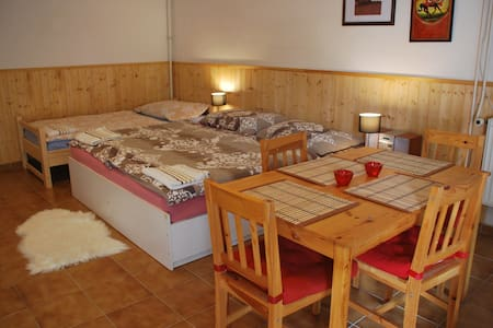 Room for 4 person on RANCH 79 - Smědčice - Rumah