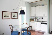 Dining and Hideway Kitchen