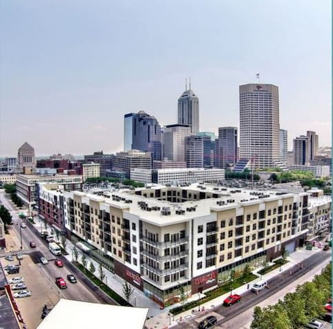 Miami feel in Downtown Indianapolis - Indianapolis - Wohnung