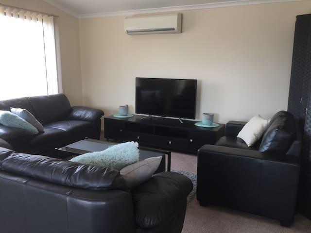 cozy lounge room