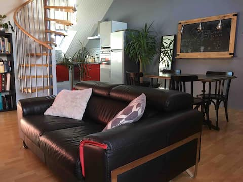 Apartment 100m from the ramparts of Guerande