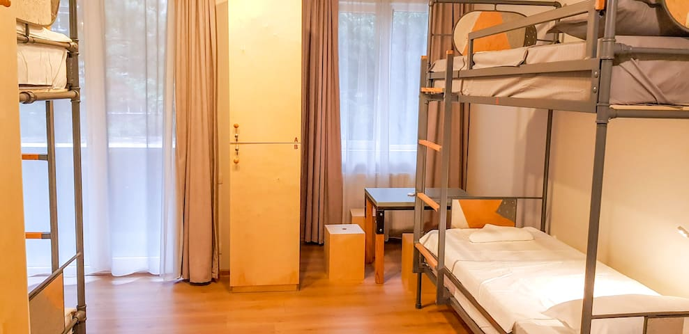 Cybernetics Hostel & Suites - room for 4 person