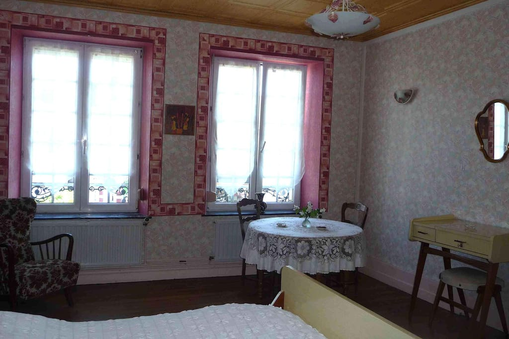 Spacious guest houses