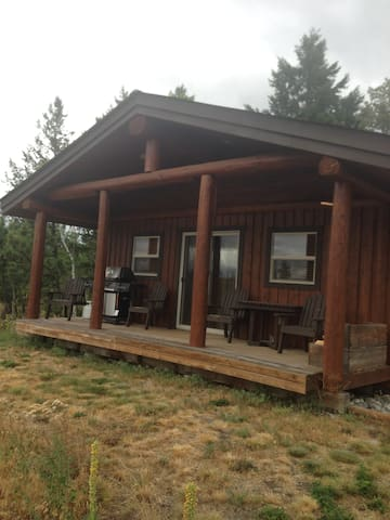 7HALFDIAMOND RANCH  1 Bedroom Cabin - Thompson-Nicola - Huis