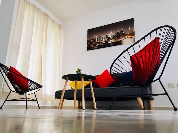 Casa La Fragata. Moderna y confortable 5 min playa