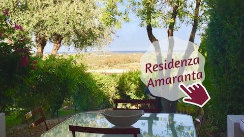 Villa AMARANTA Is Molas Golf, Design e vista mare