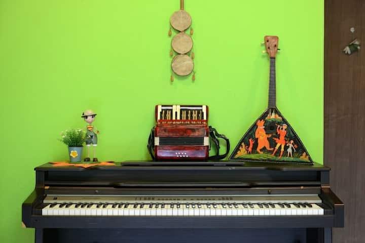 Villa Musica. pan flute. 음악펜션 뮤펜♪