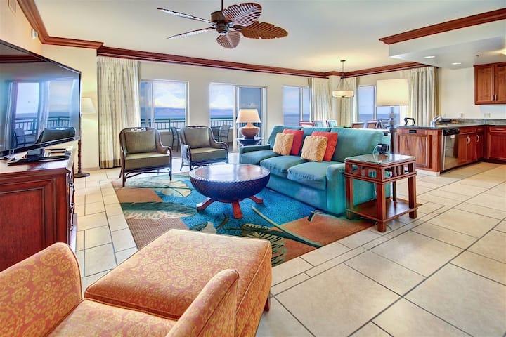 Marriott's Maui Ocean Club 3 BR Oceanfront Villa