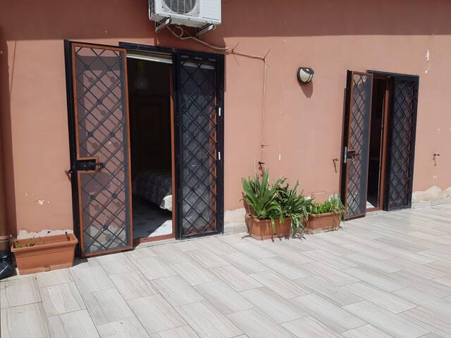 Terrazzo ad uso esclusivo per gli ospiti