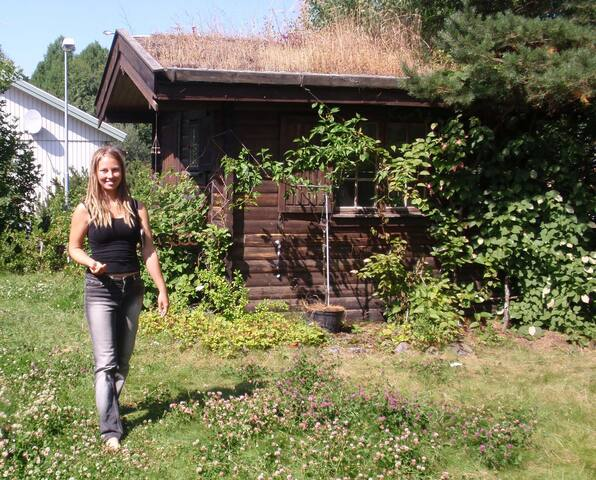 Wooden Cabin - with great nature and people