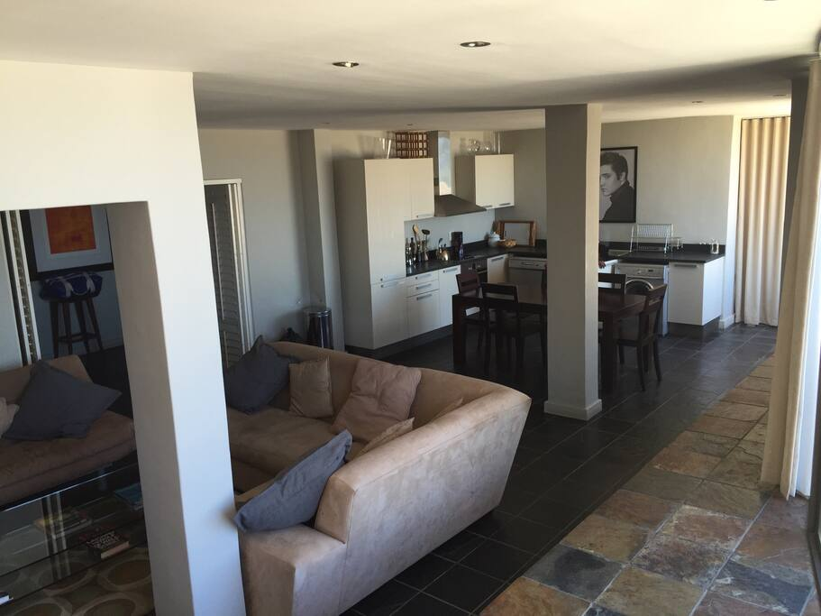 Open plan living featuring the living areas in 1