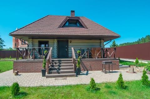 带桑拿房的2人住宅, Raubichi ,离明斯克15公里