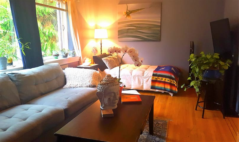 Bright & Comfy, Old Unique Apt - Vancouver - Apartment